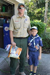 We need your permission to post photos of your Cub Scout